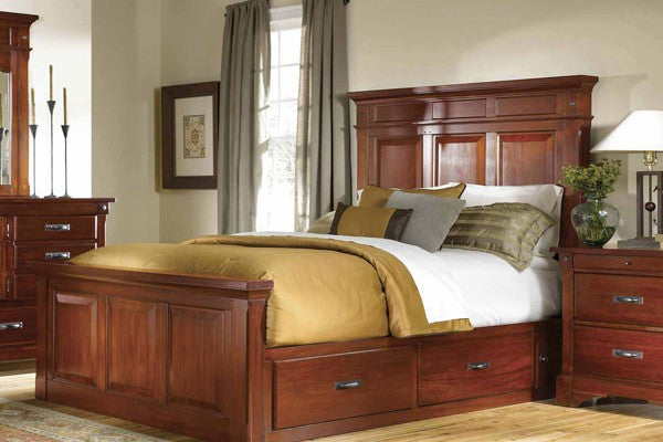 A-America - Kalispell Queen Storage Bed