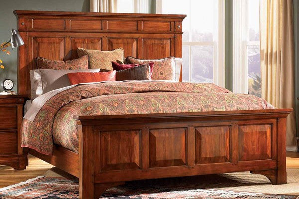 A-America - Kalispell E. King Mantel Bed