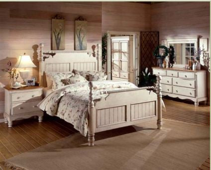 Hillsdale - Wilshire 4pc King Post Bedroom Suite