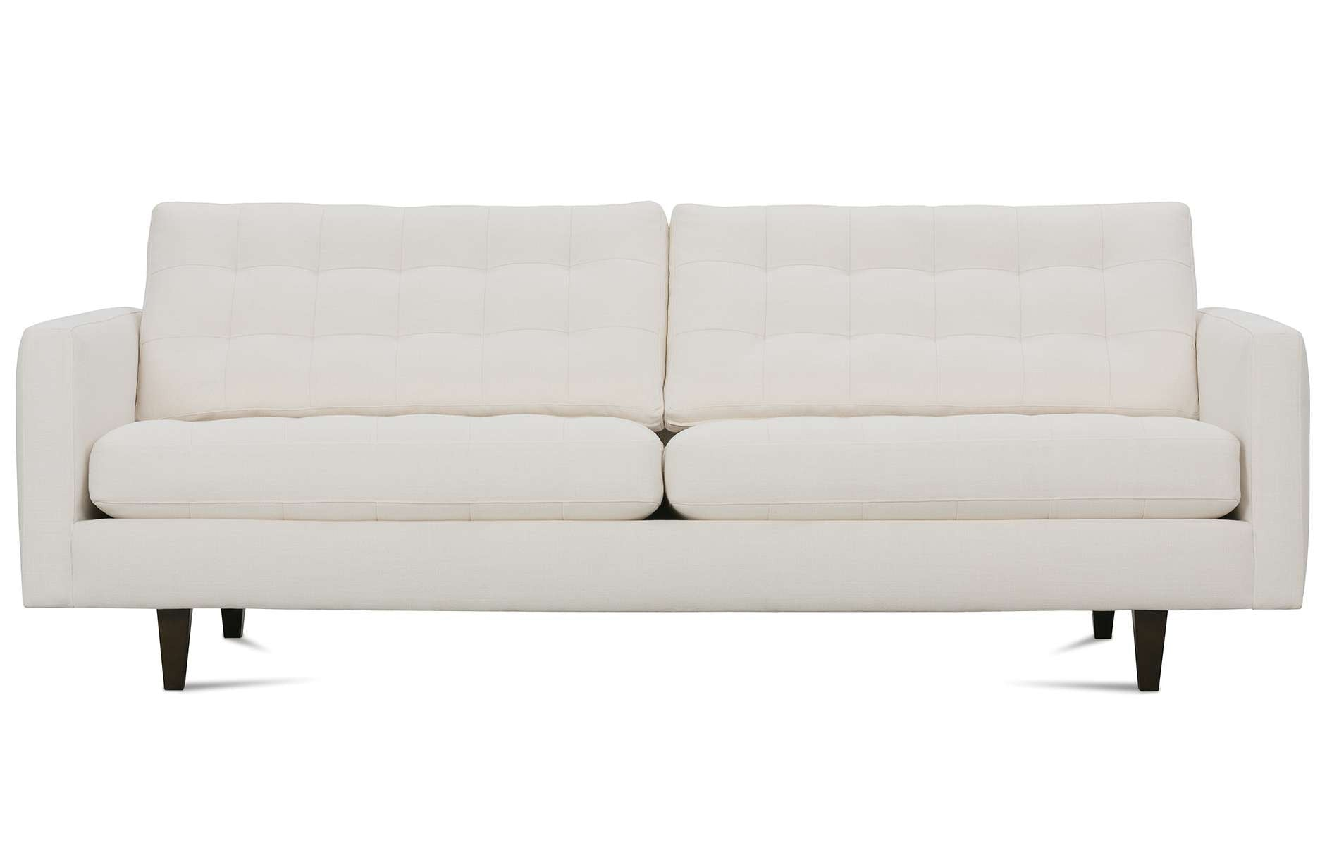 ROWE   Modern Mix Biscuit Back Sofa