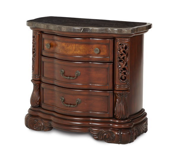 AICO - Michael Amini - Excelsior Bedside Chest