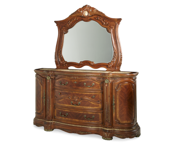 AICO - Michael Amini - Cortina Dresser & Mirror (2pc)