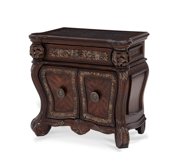 AICO - Michael Amini - Essex Manor Bedside Chest