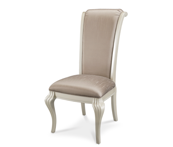 AICO - Michael Amini - Hollywood Swank Side Chair Pearl