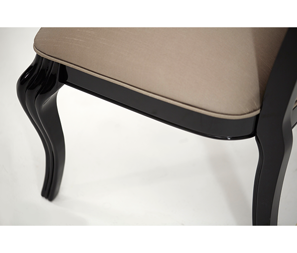 AICO - Michael Amini - Hollywood Swank Side Chair Black Onyx