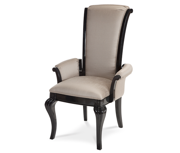 AICO - Michael Amini - Hollywood Swank Arm Chair Graphite