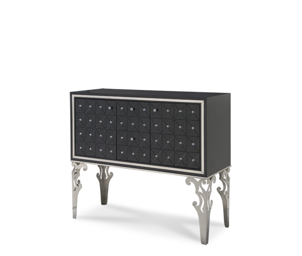 AICO - Michael Amini - Hollywood Swank Graphite Sideboard