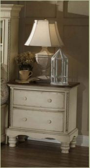 Hillsdale - Wilshire Nightstand Antique White