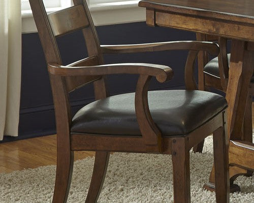 A-America - Ozark Plank Arm Chair