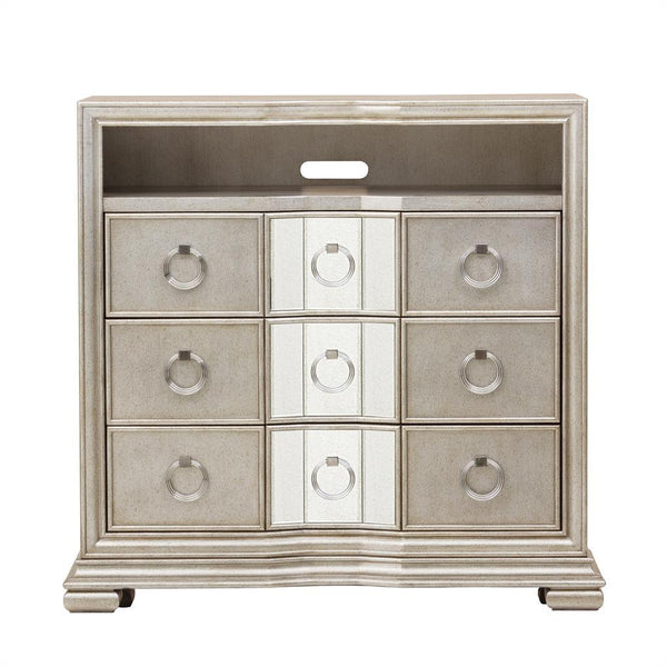 Pulaski - Couture - 3 Drawer Media Stand - Kagan's Home