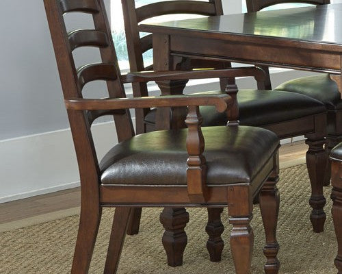 A-America - Phinney Ridge Estate Ladder Back Arm Chair