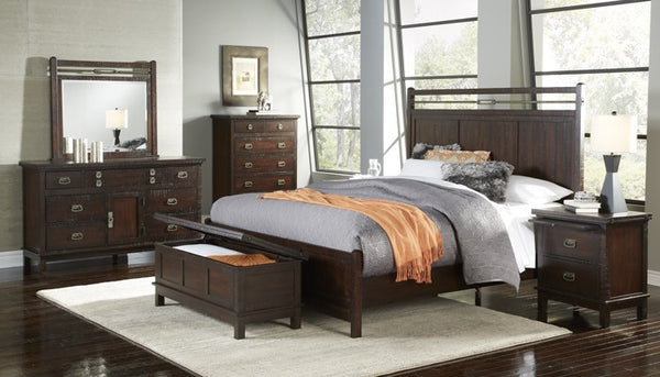 A-America - Suncadia Panel Bed 1