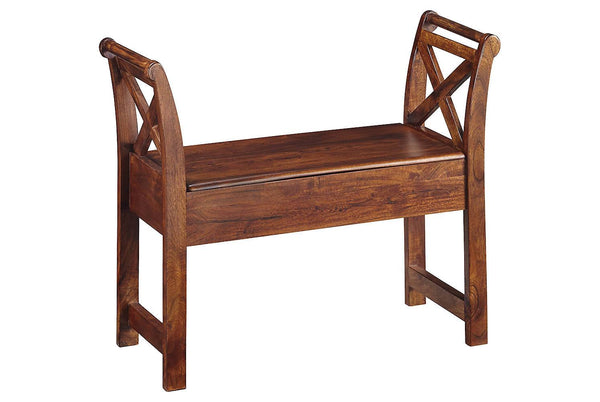 Ashley Signature - Benches -  Abbonto Accent Bench- Kagans Home