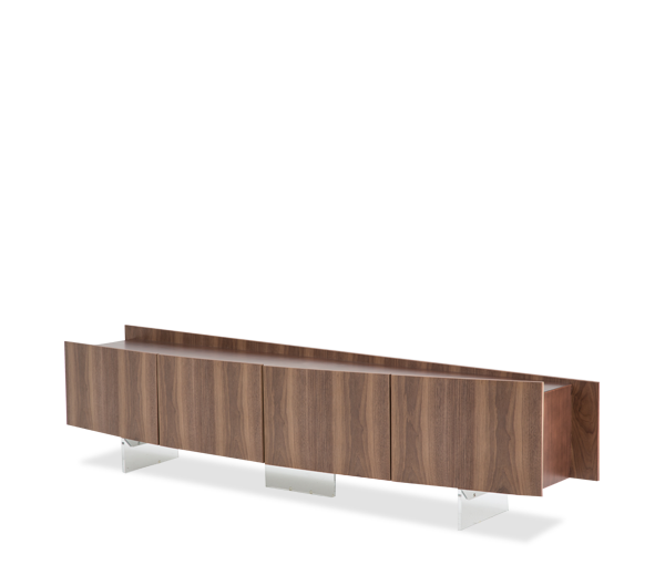 AICO - Michael Amini - Trance Parallel TV Console