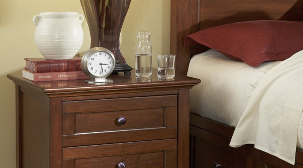 A-America - Westlake Cherry Brown Nightstand