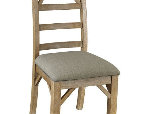 A-America - West Valley Blue Stone Ladder Back Side Chair