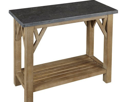 A-America - West Valley Sofa Table with Shelf