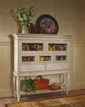 Hillsdale - Wilshire Sideboard Cabinet Antique White
