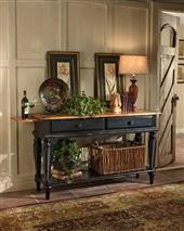 Wilshire Sideboard Rubbed Black