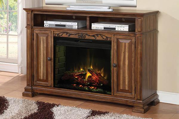 "ZBCL-1900 -58"" Fireplace Console - Kagan's Home"