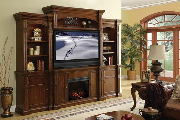 Fireplace Entertainment Wall - Kagan's Home