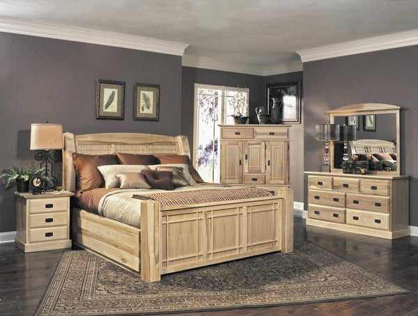A-America - Amish Highlands Panel Storage Bed 1