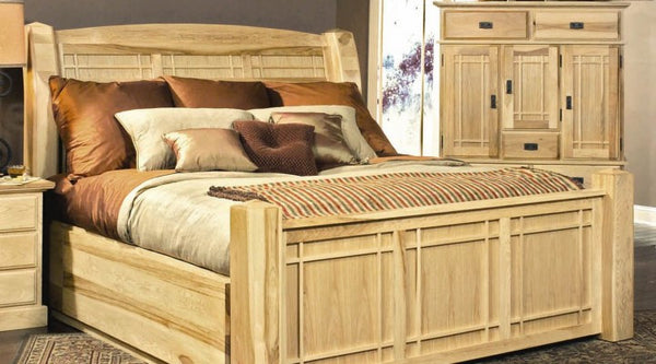 A-America - Amish Highlands Panel Storage Bed 2