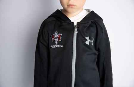 REFcore™ Kids Hoodie (Full Zip) by Under Armour
