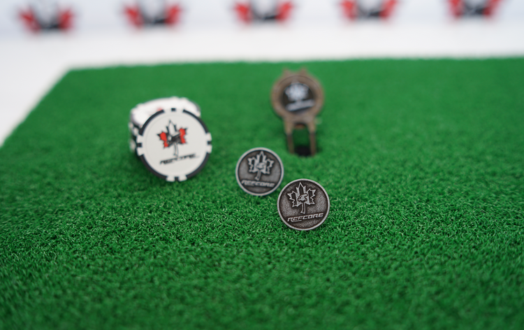 REFcore™ Golf Ball Poker Chip Markers