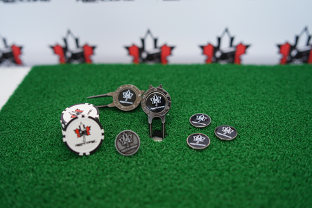 REFcore™ Golf Divot Repair & Ball Marker