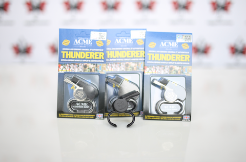 ACME Thunderer Whistles (Avail in Nickel or Black)