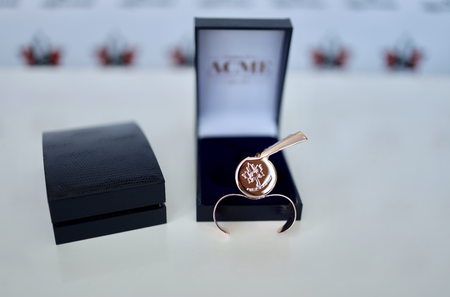ACME Thunderer Whistle ROSE GOLD (Breast Cancer Awareness)