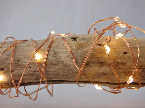 Copper & Silver Firefly String Lights 5 metres