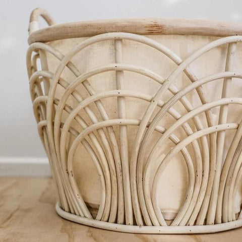 Natural Rattan Basket Set