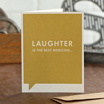 Laughter Is The Best Gift Card