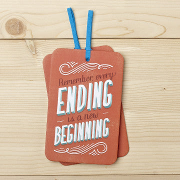 Remember, Every Ending Gift Tag