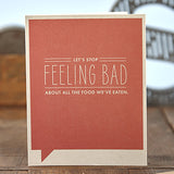 Lets Stop Feeling Bad Gift Card