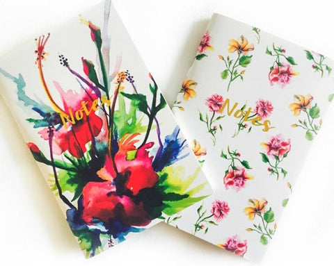 The Arty Hearts Notebook Set of Two