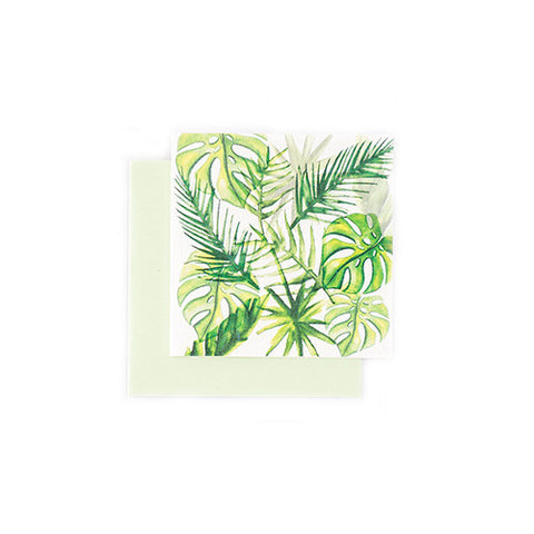 The Arty Hearts Tropical Leaves Series Gift Cards