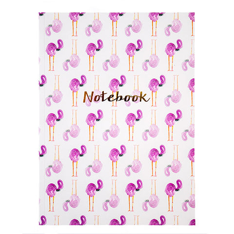 The Arty Hearts Flamingo Notebook