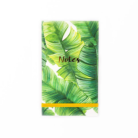 The Arty Hearts Banana Leaf Desk Notepad