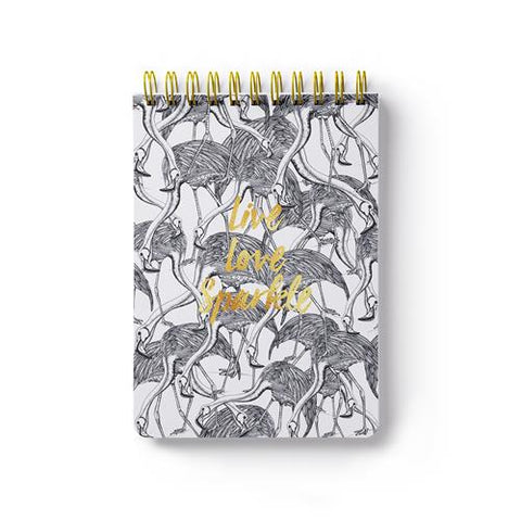 The Arty Hearts Jungle Club Notepad