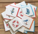 The Arty Hearts Nautical Series Gift Cards