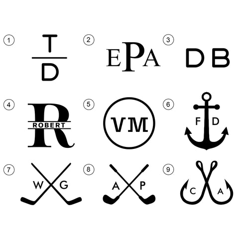 9 Best Monogram Designs For Engraving Personalization