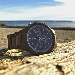 Chronograph Wood Watches
