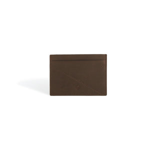 Card Wallet Brown Leather