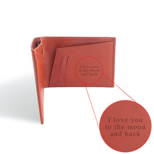 Personalized Passport Holder by DVGNT I love you to the moon and back