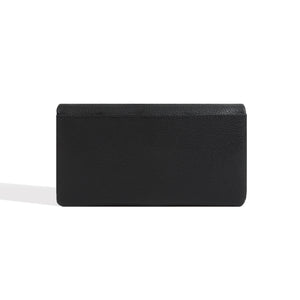 Long Black Wallet for Women