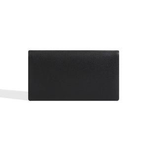 Long Wallets for Women Black Leather