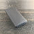 Womens Long Wallet Gray Leather